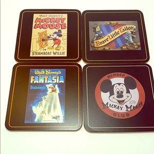 Disney Mickey Mouse coaster set